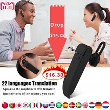 VBESTLIFE Intelligent Multi-Language instant translator voice with Wireless bluetooth earphone headphones traductor simultaneo(China)