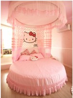 Hello Kitty 100%cotton minion bedding sets kids pink bedspreads cartoon bedclothes duvet cover set bed sheets king queen twin