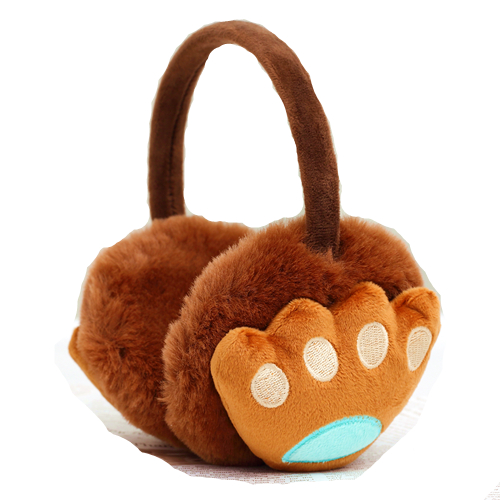 New Cute Cartoon Fur Winter Earmuffs For Women Warm Earmuffs Ear Warmers Gifts For Girls Cover Ears Ear Muff AB338