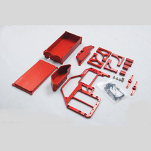 Area Rc V3 Range rc dual steering servo radio plate v3 full metal version for losi- 5ive-t 5t 0236 child toys car parts