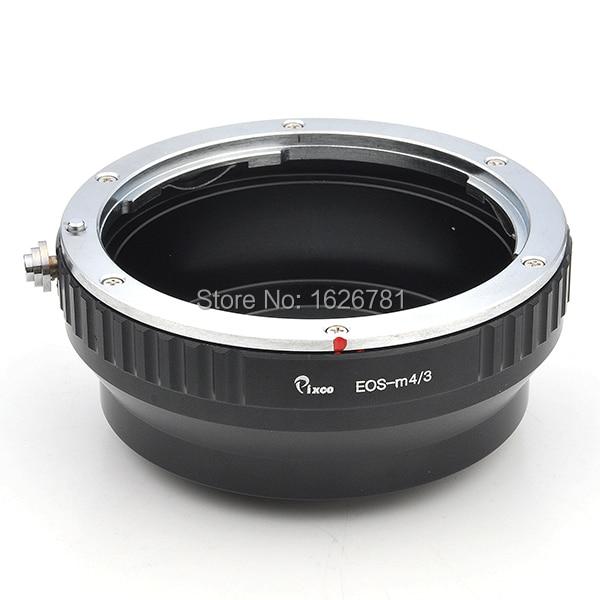 Pixco lente traje adaptador para Canon EOS EF lente EF-S a Micro 4/3 M4 / 3 de montaje de la cámara GF3 GF2 G3 GH2 E-P3 E-PL6 E-P5 E-PL5