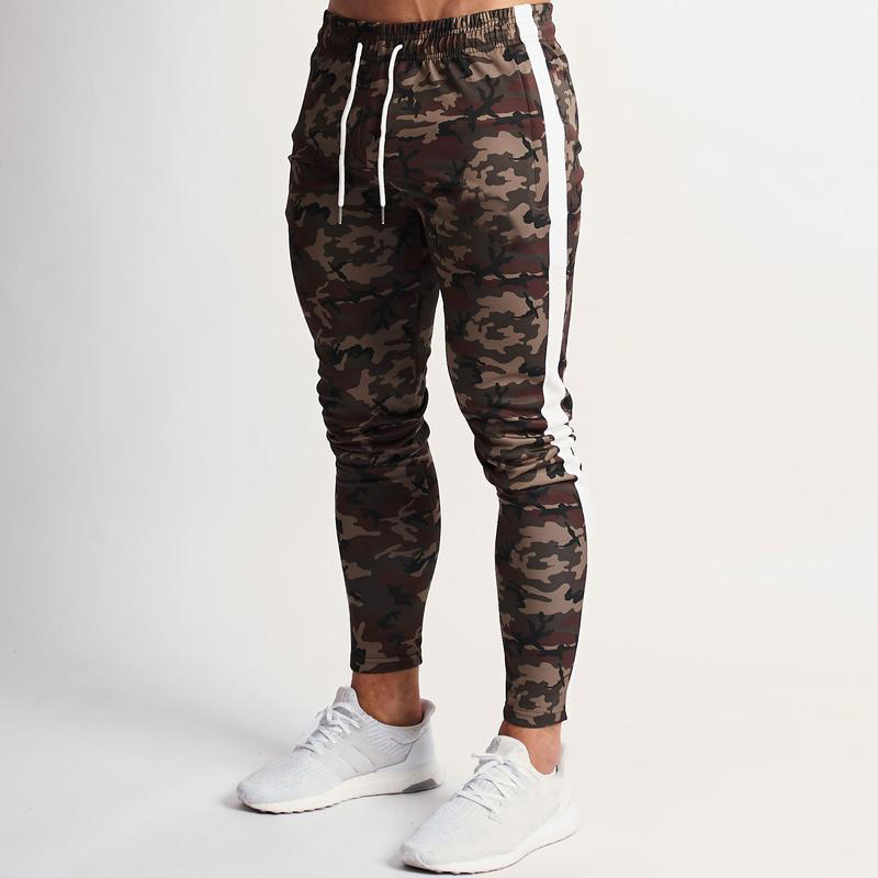 Joggers Pants Men 2020 Camouflage Colour Patchwork Men Pants Fitness Sportswear Sweatpants Male Casual Leggings Trousers 4