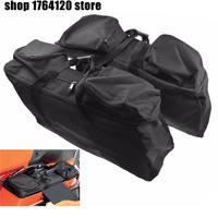 Hard Saddlebag Luggage Liners Tour Pack Soft Liner Bags For Harley Touring Electra Street Glide Road King 1993 2018