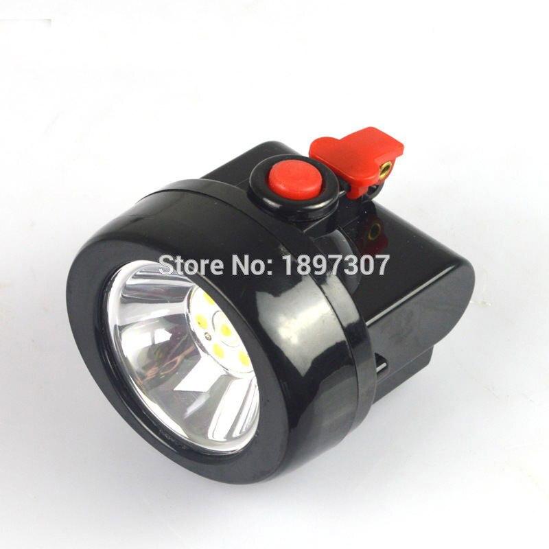 12 шт. KL2.5LM 1 Вт 3500lux LED Шахтер Детская безопасность Кепки лампа/LED добыча свет с Зарядное устройство + Доставка по FEDEX <font><b>UPS</b></font> или DHL