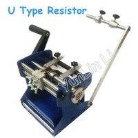 U Typ Manuelle Widerstand Axial Blei Biegen Cut & Form Maschine Widerstand Forming Maschine Widerstand Molding Maschine Biegen Gerät-in Biege Maschinen aus Werkzeug bei