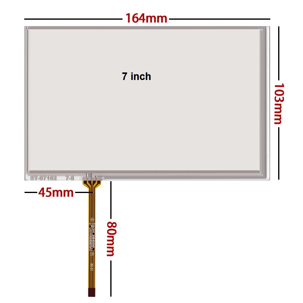 10 pcs lot New 7 1 inch touch screen 164 103 industry AT070TN83 v 1 AT070TN84