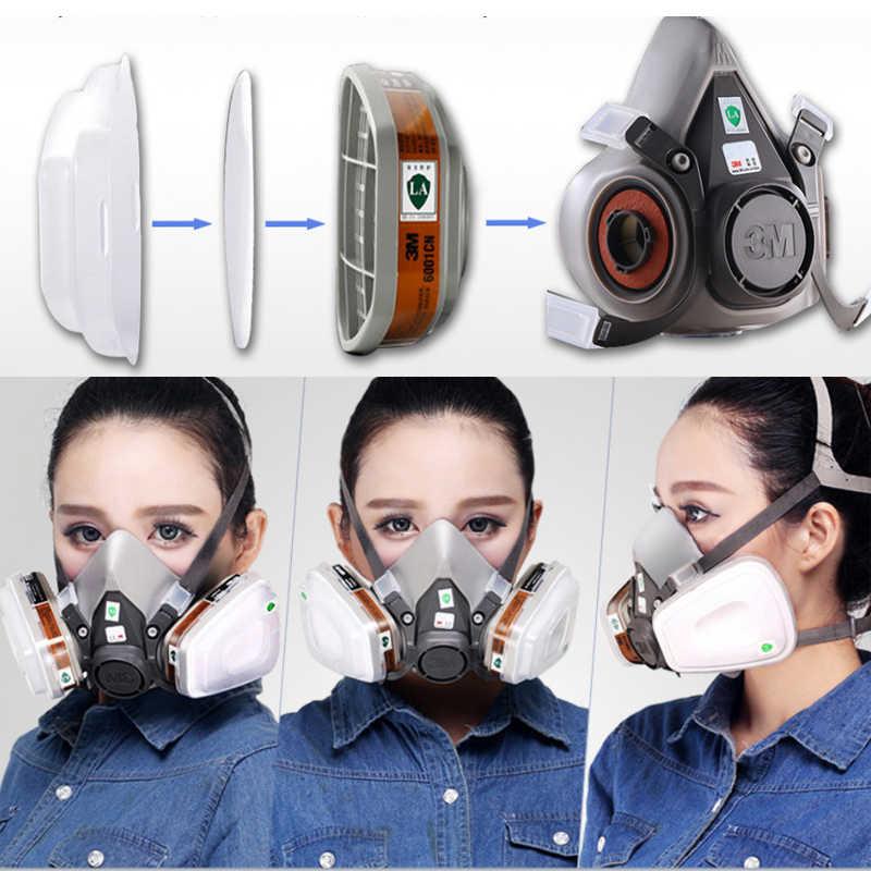 3m half face mask 6200