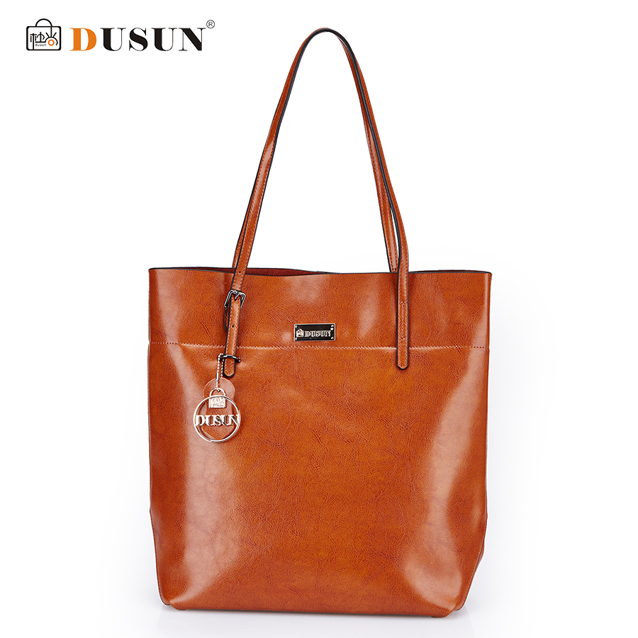 DUSUN Women Bag Genuine Leather Handbag Casual Women's Tote Fashion Famous Brand