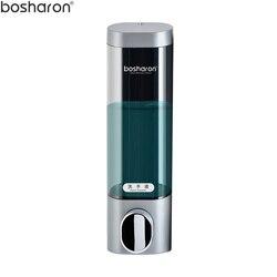 Akcesoria łazienkowe mydło w płynie dozownik montowany na ścianie 300 ml z tworzywa sztucznego żel pod prysznic i szampon dozowniki mydła w płynie do kuchni hotelu domu