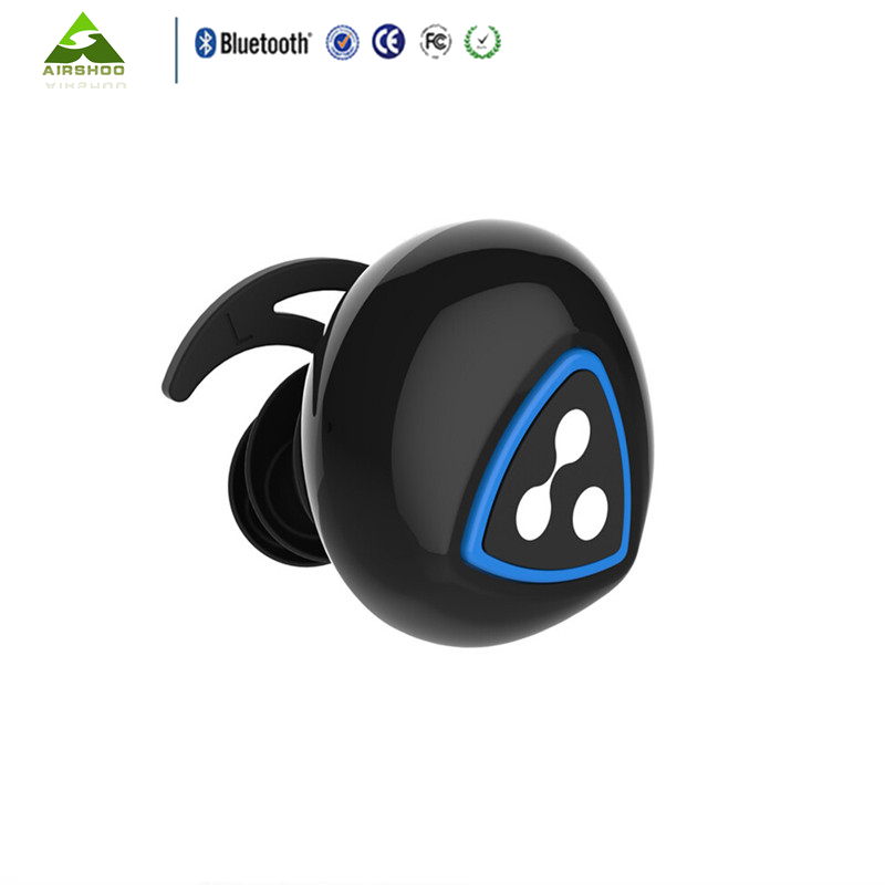 First Launched 2PCS Syllable D900S Black Bean Wireless Bluetooth4.0 IPX4 Waterproof Earbud Earphone Sports For Android Phone IOS
