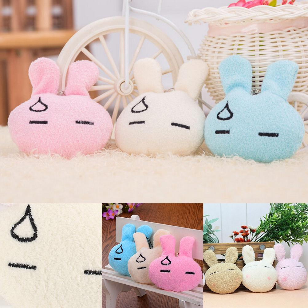 Cute Rabbit Baby Soft Plush Toy Stuffed Rabbit Keyring Cheapest Price Best Gift for Kids Random Color Hot Sale