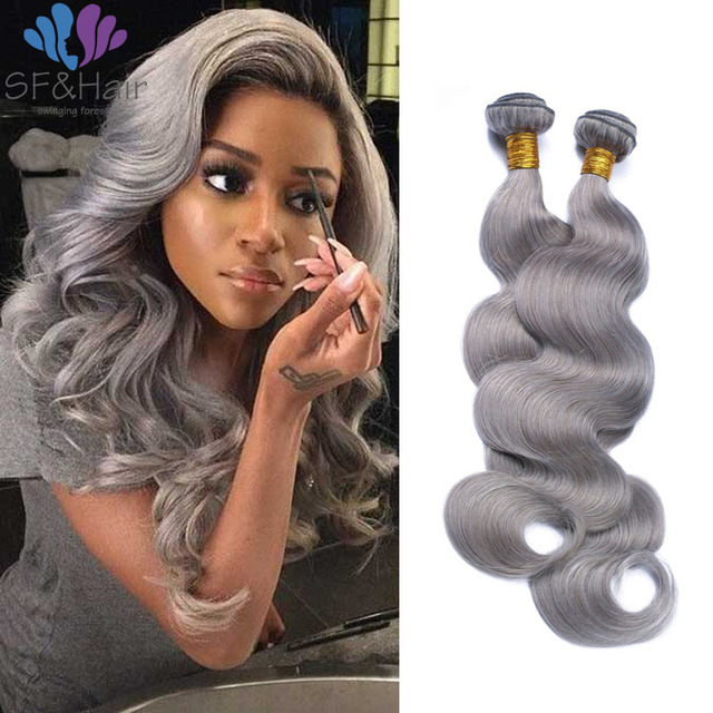 8a silver grey remy hair bundles 3 pcs brazilian wet and wavy hair 8a silver grey remy hair bundles 3 pcs brazilian wet and wavy hair extensions good cheap pmusecretfo Image collections