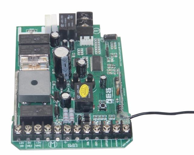 Cartão da placa de circuito para automática abridor de portão deslizante motor DC 24 V de alimentação