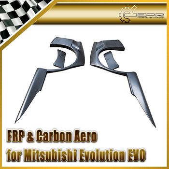 Car Styling For Mitsubishi Evolution EVO 8 9 VTX Cyber FRP Fiber Glass Rear Over Fender