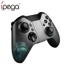 PG-9062S Ipega Sem Fio Bluetooth Controlador Do Jogo Gamepad Dual Motor Joystick para iOS Xiaomi TV PC vs gamesir g3s jostick pará