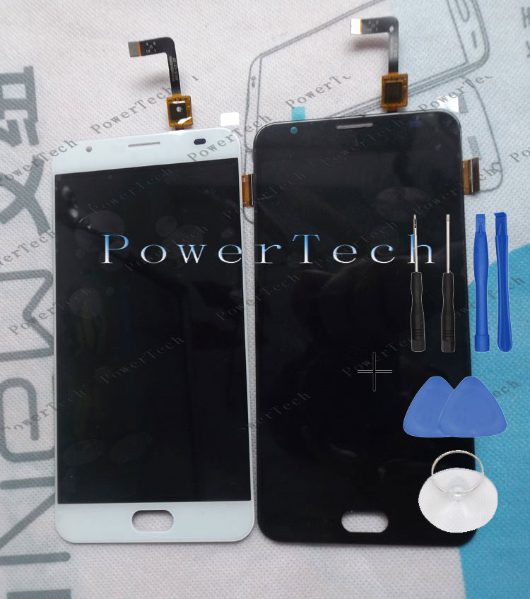 New POWER 2 Front Panel Touch Glass Digitizer Screen with LCD display replace for ULEFONE Power 2 Cell Phone FREE SHIPPING