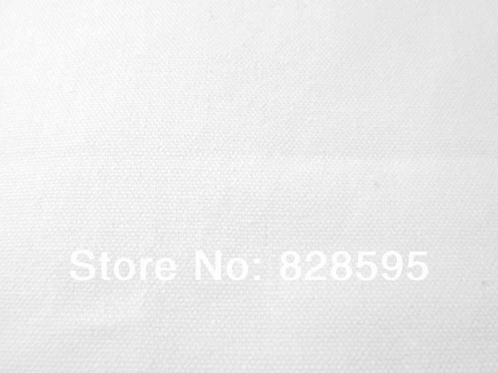 Aa132r (커버 만 판매) 화이트 100% 코튼 캔버스 라운드 모양 쿠션 커버 베개 커버 53 가지 색상