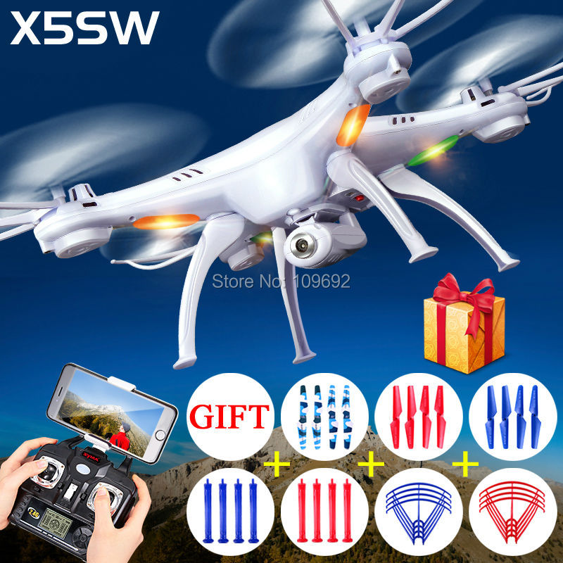ФОТО 100% Original Syma X5S X5SC X5SW WIFI Aerial RC Quadcopter 2MP HD Camera 2.4G 6-Axis FPV Drone Headless VS H107D H8D Helicopters