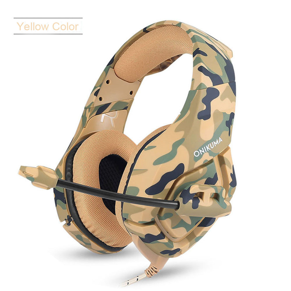 ONIKUMA K1 Casque  PS4 Headset with Microphone Stereo Gaming Headphones for Cell Phone New Xbox One Laptop PC (3)