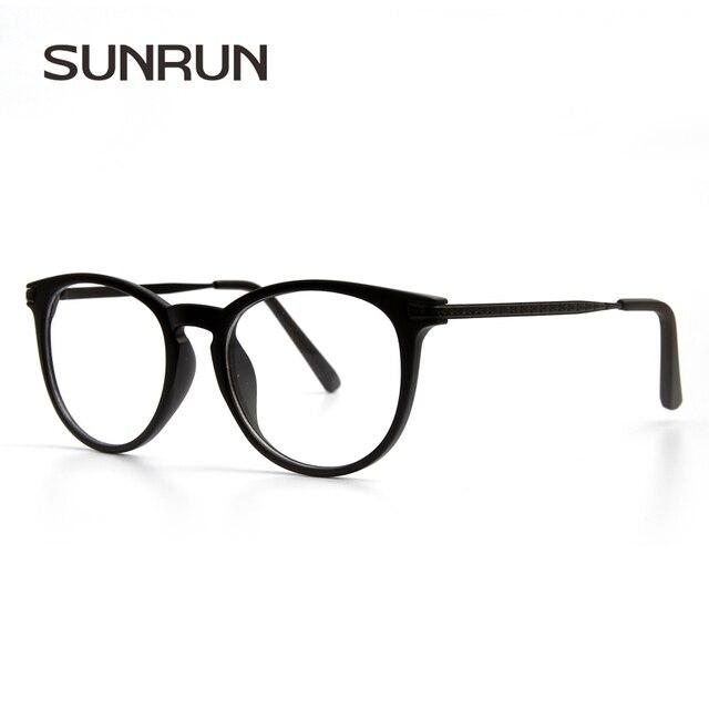 9e3d4d2864fdb SUNRUN Homens Óculos de Armação Mulheres Óculos Armações Óculos de Lentes  Claras Óculos de Leitura óculos