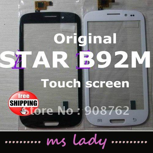 STAR B92M B92 touch screen 100% new for replacement touch panel glass free shipping  airmail tracking code