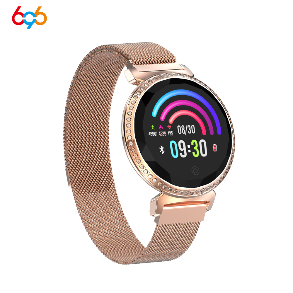 696 MC11 ladies smart bracelet heart rate blood pressure sleep monitoring physiological cycle reminder multi-function bracelet