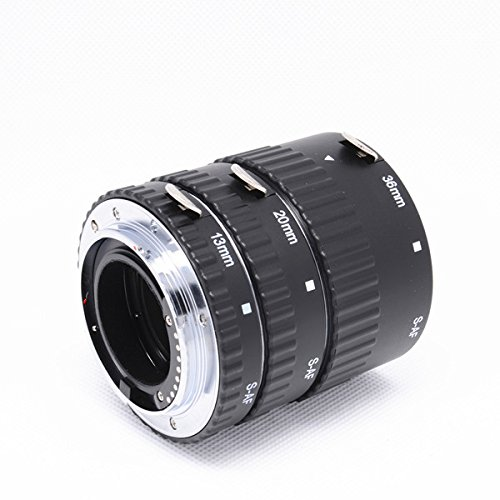Meike S-AF-A Metal Auto Focus AF Macro Extension Tube Ring Set for Sony A77 A200 A300 A350 A500 A550 A580 A850 A900 meike s af b auto focus macro extension tube ring set adapter for sony alpha a7 ii a580 a550 a350 a900 a77 a550 a300