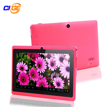 "7 ""tablet pc android 4.4 de google a88 quad core 512 mb-8 gb wifi dual cámara de 7 Pulgadas Q8 Q88 Tablets PC Adecuado para hacer regalos"