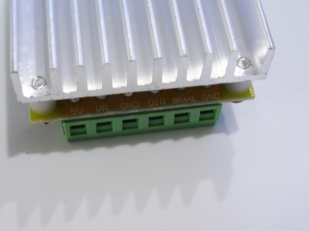 380 w 3 Phasen Bürstenlosen Motor Controller board (Keine/ohne Halle sensor) BLDC PWM PLC Fahrer Board DC 6-50 V