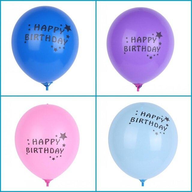 10pcs Lot RGB Flashing Led Light Up Balloons12 Luminous Latex LED BalloonsLED For Wedding And Party Decoration