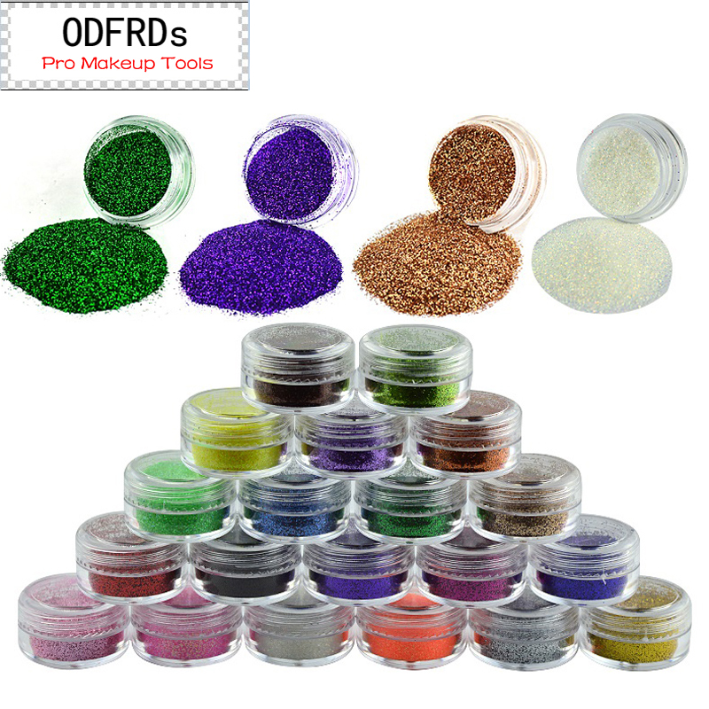 Decoration Glitter Used With Paints Sequins Super Bright Flash Fine Powder For Decorate M522