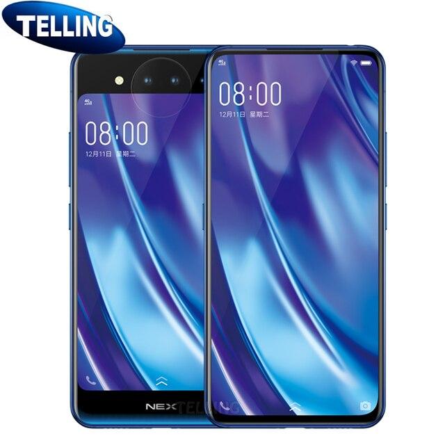 Global Rom Vivo Nex Dual Screen Mobile Phone Android Snapdragon 845 Octa Core 10G+128G 3D TOF Night Vision Screen Fingerprint