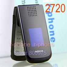 Nokia 2720 Falten Renoviert Handy 2G GSM tri-band Handy Original Entsperrt