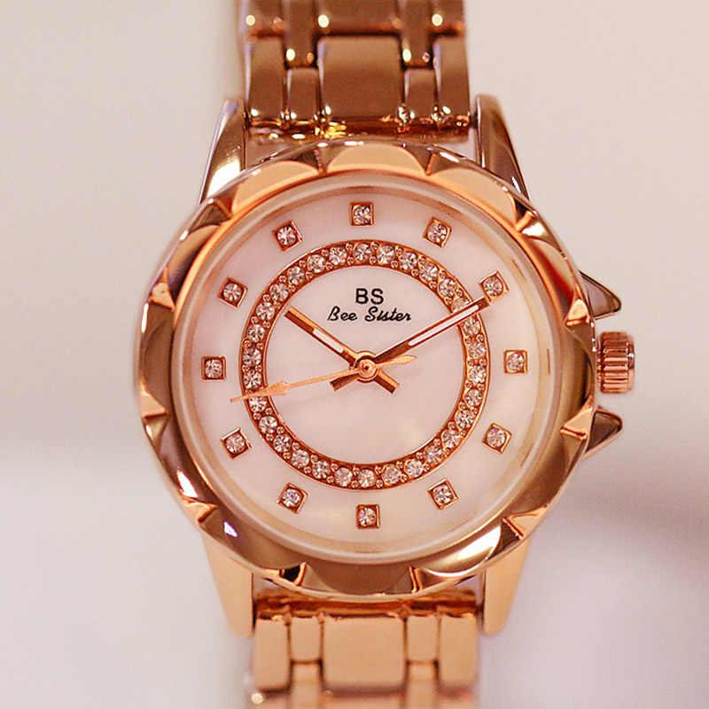 Femmes montres de luxe diamant Top marque élégante robe Quartz montres dames strass montre-bracelet Relogios Femininos ZDJ