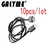 10pcs/lot Hot Sale New 3FT Black Color 2 in 1 USB Data Transfer Sync Charge Charger Cable For PSVita PSV1000 PS Vita Wire Cables
