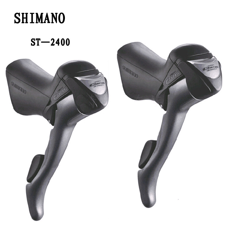 shimano CLARIS ST 2400 2x8S 16S Shifter / Brake Lever Road Bike Bicycle Parts Include Inner Cables shimano 105 5800 dual control lever shift lever 2 11s 22s derailleurs road bicycle for tour and relaxing bike components parts