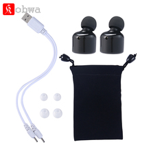 Kobwa bluetooth 4.2 Earphone Invisible Earpiece tws Wireless Earbuds Bluetooth Headset X1T Bluetooth earphone
