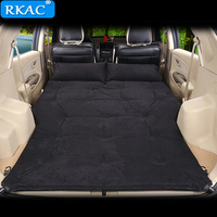RKAC 2018 Newest Automatic Good quality Car Inflatable SUV Car Inflatable travel air Bed Outdoor Travel Car Air Mattress Bed