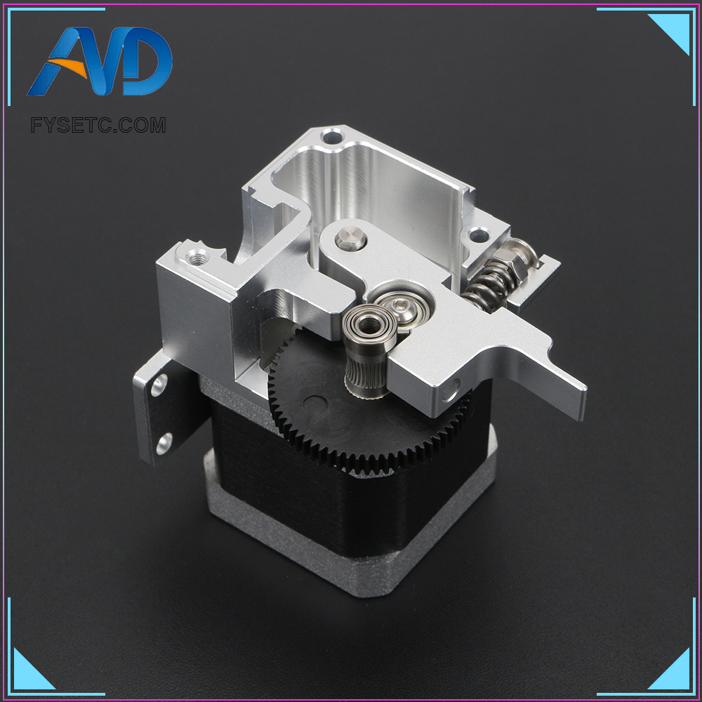 Image 2 - All Metal Titan Aero Extruder 1.75mm For Prusa i3 MK2 3D Printer For Both Direct Drive And Bowden Mounting Bracket3D Printer Parts & Accessories   -