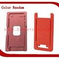 Alumínio de vidro molde de metal para iphone 7/7 plus com moldura Quadro Molde Com Entulho Para OCA Laminador Máquina de Laminação OCA
