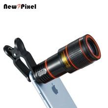 Téléphone photo télescope 8X fois téléobjectif HD téléphone oculaire objectif universel pour iphone X 8 7 6 s xiaomi HUAWEI Samsung téléphone intelligent