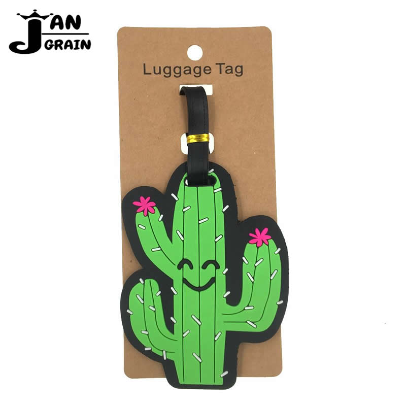 creative-cactus-luggage-tag-silica-gel-suitcase-id-address-holder-cute-baggage-boarding-tag-portable-label-travel-accessories
