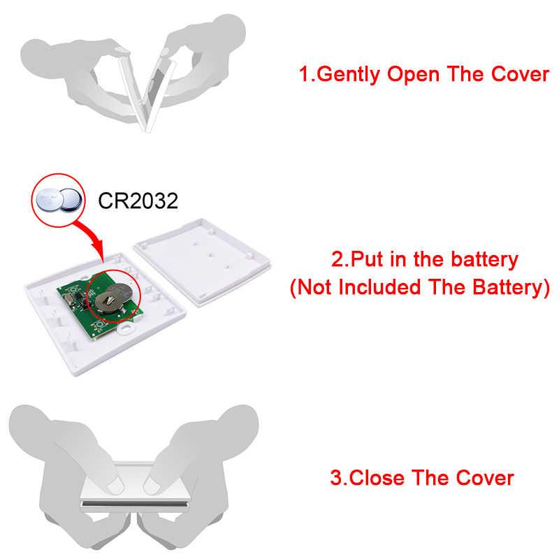 QIACHIP 433 Mhz Беспроводной RF настенный передатчик и AC 110 V 220 V 1 CH Пульт дистанционного управления реле приемник зал спальня свет