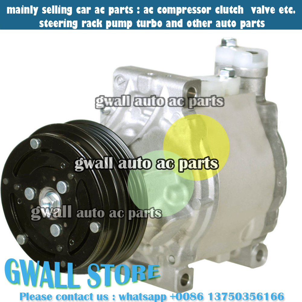 CAR AIR A/C COMPRESSOR WITH CLUTCH FOR CAR <font><b>SUBARU</b></font> <font><b>OUTBACK</b></font> 2.5L H4 2005 <font><b>2006</b></font> 2007 4711609 471-1609 image