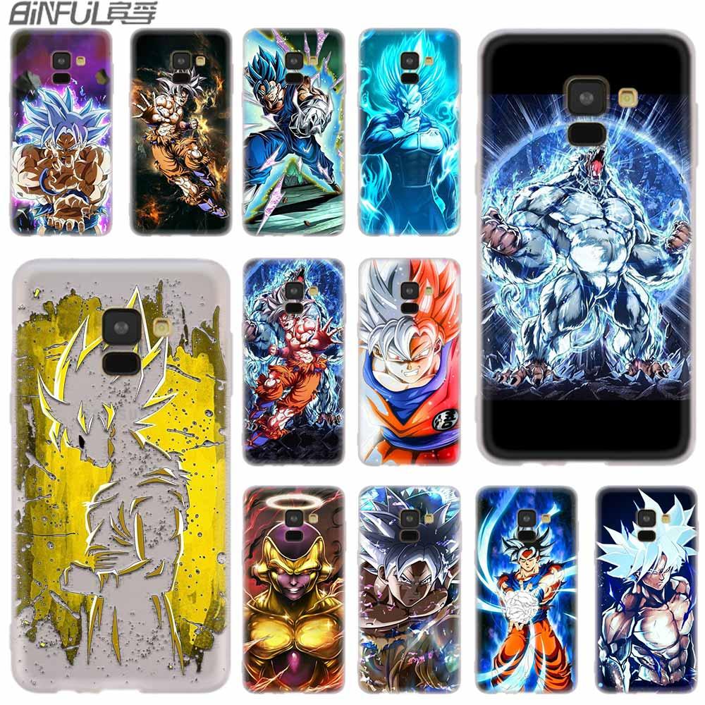 Half-wrapped Case Luxury Dragon Ball Sun Wukong For Samsung Galaxy J3 J4 J5 J6 J7 J8 Plus 2016 2017 2018 J2 Prime Case Cover Silicone Coque Etui