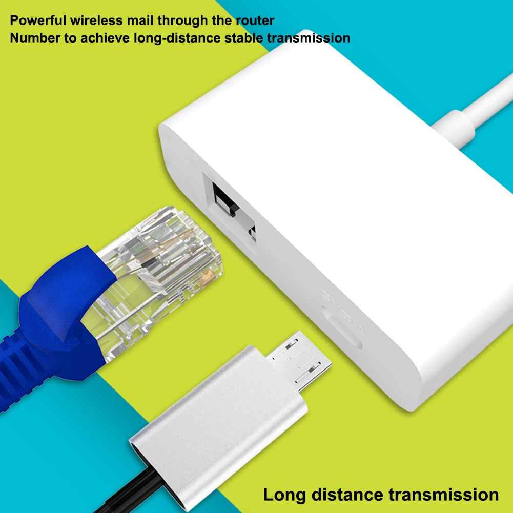 1080 P HD удлинитель HDMI к RJ45 Micro USB совместим с Android iphone ipad Windows