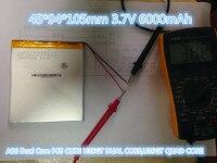 Best Battery Brand 45 94 105mm 3 7V 6000mAh Tablet Update Battery For Tablet SmartQ T20