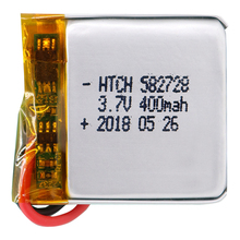400mAh 3.7V 582728 Rechargeable li-Polymer Li-ion Battery For Q50 G700S K92 G36 Y3 Childre