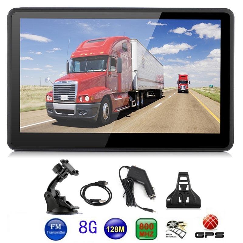 Навигатор для грузовиков 8 Гб Универсальный Автомобильный gps навигации электронная книга gps навигатор Смарт Game Player