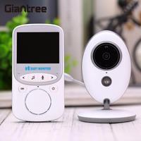 Giantree HD de Dos vías de Audio Video Baby Monitor Cámara Inalámbrica Visión Nocturna Espectador Cam Vigilancia Niñera de 2 Vías de Conversación
